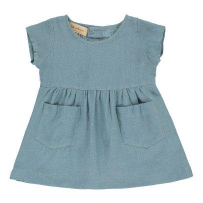 Lab - La Petite Collection Kleid aus Leinen -listing