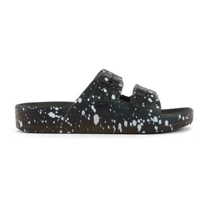 Moses Buckled Speckle Sandals-listing