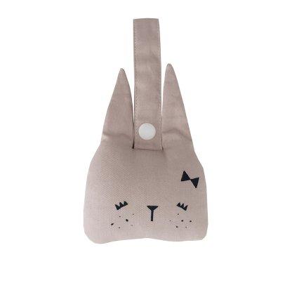 Fabelab Sonaglio da sospensione coniglio in cotone organico - 10x10 cm-listing