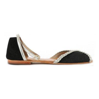 Petite Mendigote Suede Sandals-listing