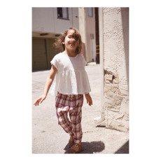 Boy + Girl Natalie Peplum Top-listing