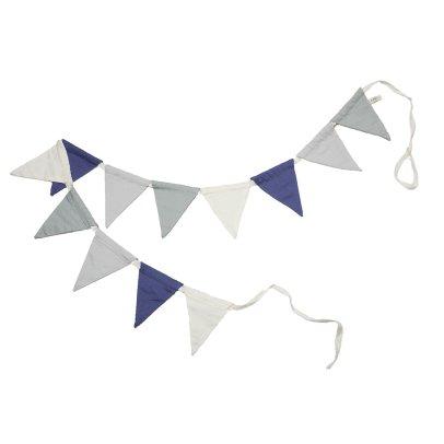 Fabelab Guirnalda banderines en algodón orgánico - 150cm-listing