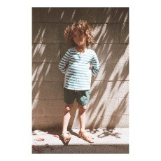 Boy + Girl Zweifarbige Badehose Parker -listing