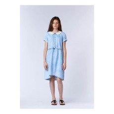 UNE FILLE today I am Lace Collar Dress-listing