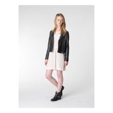 UNE FILLE today I am Giacca Pelle Zip-listing