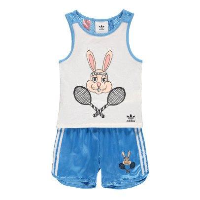 Adidas Conjunto Short Sporty Conejo x Mini Rodini-listing