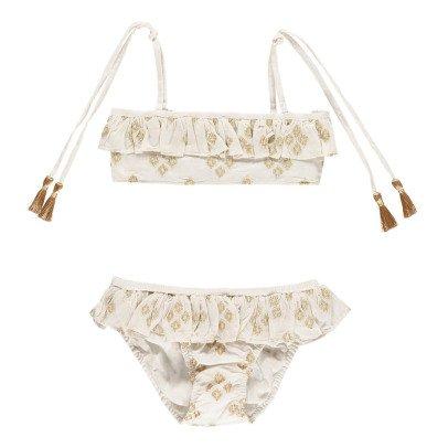 Lison Paris Sunset Ebroidered Bikini-listing