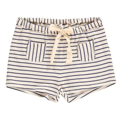 Babe & Tess Striped Shorts with Pocket-listing