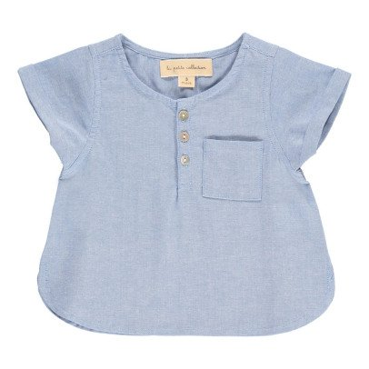 Lab - La Petite Collection Blouse Boutonnée Chambray-listing