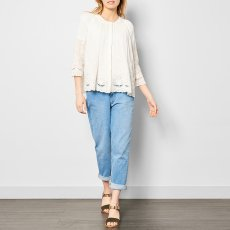Des petits hauts Toufig Blouse with Broderie Anglaise-product