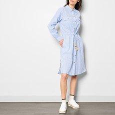 Leon & Harper Vestido Midi Camisa Rayas Rosanna-listing
