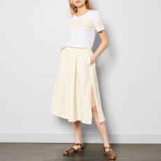 Cuisse de Grenouille Clarinette Striped Long Sleeve Skirt-listing
