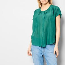 Des petits hauts Sirocco Cotton and Silk Shirt-listing