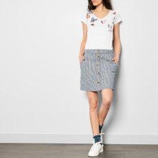 Leon & Harper Camiseta Cuello V Mariposas-listing