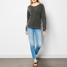 Polder Petra Washed Linen Sweatshirt-listing