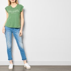 "Soeur Valentin ""Rive Gauche"" Linen and Cotton T-Shirt-product"