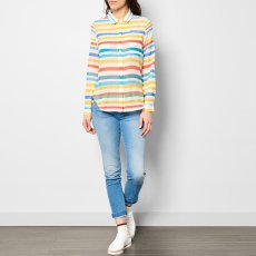 G.KERO Striped Silk and Cotton Shirt-listing
