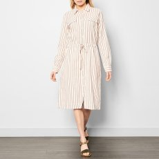 Swildens Qixia Striped Shirt Dress-product