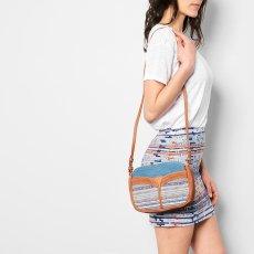 Sessun Divine Denim, Leather and Jacquard Bag-listing