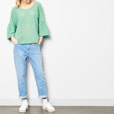 Leon & Harper Tamy Clover Embellished Blouse-listing