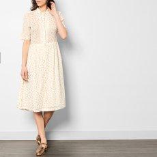 Leon & Harper Roland Polka Dot Button Up Midi Dress-listing