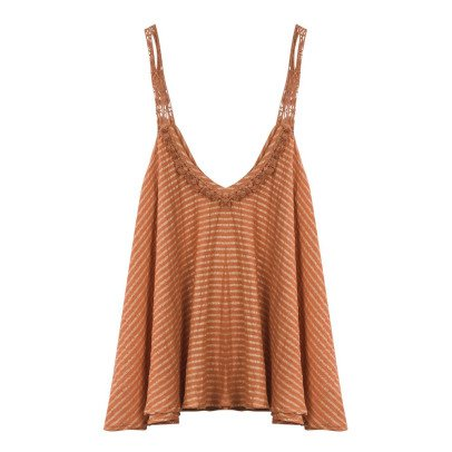 Louise Misha Top Rayé Lurex Grenade - Collection Femme --listing
