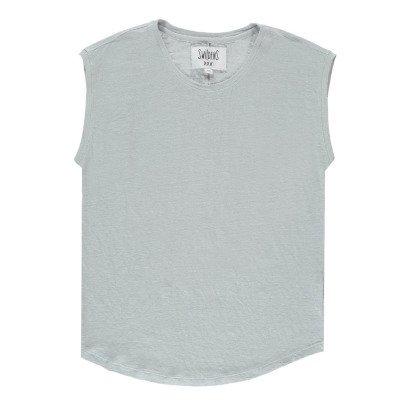 Swildens T-shirt Lino Linea dorata-listing