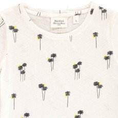 Hartford T-shirt Coton  Lin Palmiers Tropica-listing