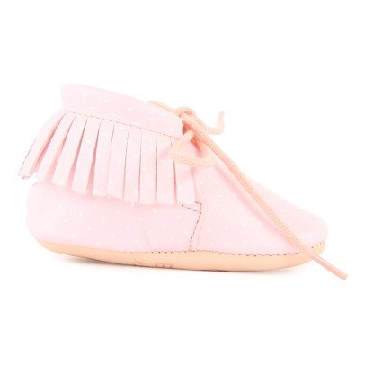 Easy Peasy Pantofole Lacci Pelle-listing