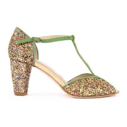 Anniel Zapatos de tacón Ante y Paillettes-listing