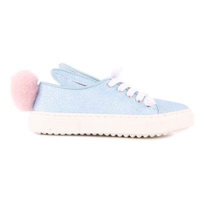 Minna Parikka Glitter Tail Lace-Up Trainers-listing