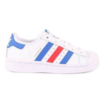 Adidas Dreifarbige Schnürturnschuhe Superstar -listing