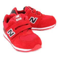 New Balance KV574 Suede Velcro Trainers-listing