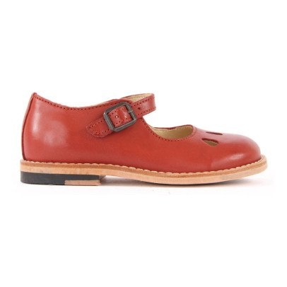 Young Soles June Leather Mary Janes-listing