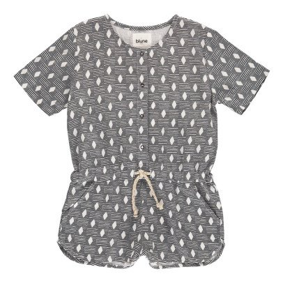 Blune Kids Harissa Diamond Playsuit with Buttons-listing