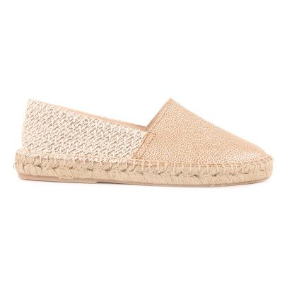 Craie Jour Leather and Canvas Espadrilles -product