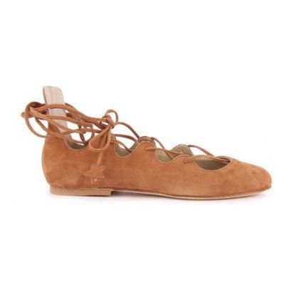 Anniel Ballerinas aus Wildleder -listing