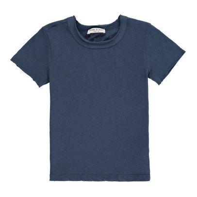 Babe & Tess T-Shirt Bordo maniche-listing