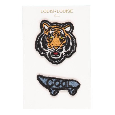 Louis Louise Tiger + Cool Badges-listing
