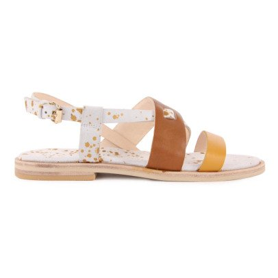 Craie Triology Leather Plaited Sandals-listing