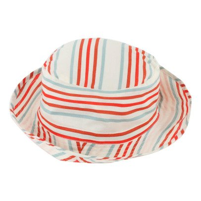 Oeuf NYC Pima Cotton Striped Bucket Hat-listing