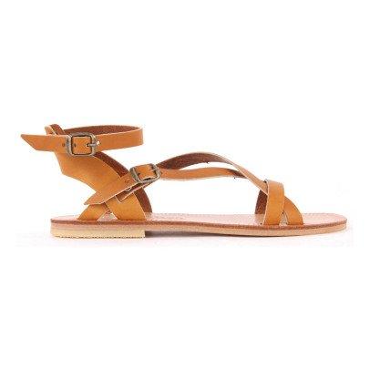 Sessun Gaia Crossed Sandals-listing