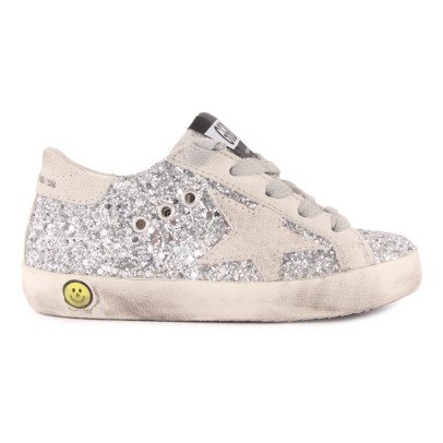 Golden Goose Zapatillas Bajas Cordones Paillettes Superstar-listing