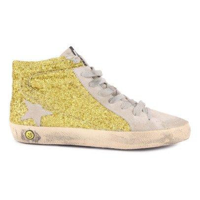 Golden Goose Sneakers Lacci Zip Paillettes -listing
