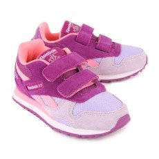 Reebok GL 3000 Velcro Suede Trainers-listing