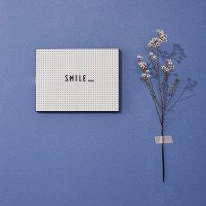 Design Letters Tabla mensaje A4-listing