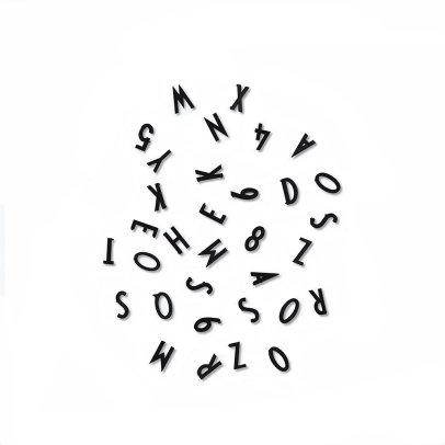 Design Letters Lettres et chiffres pour tableau message-listing
