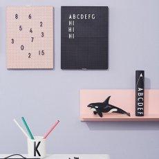 Design Letters Letras y números para tabla mensaje-listing