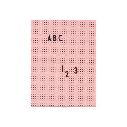 Design Letters Tafel A4-listing