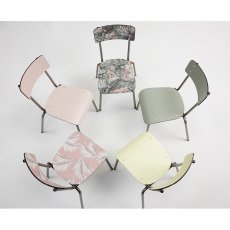 Les Gambettes Chair for grown-ups Suzie with natural legs --listing